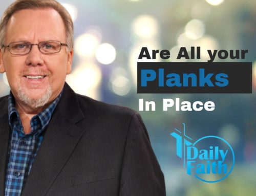 Are All Your Planks In Place (Noah)